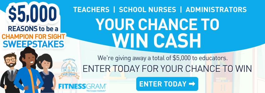 Educators can win cash