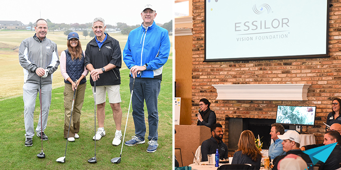 Essilor Vision Foundation 2019 Golf Tournament for clear sight raising 1 million dollars