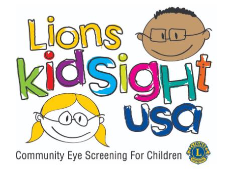 Lions KidSight USA Logo