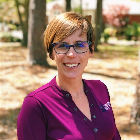 Shannon Kleinwolterink, Practice Administrator for New Bern & Pamlico Family Eye Care.