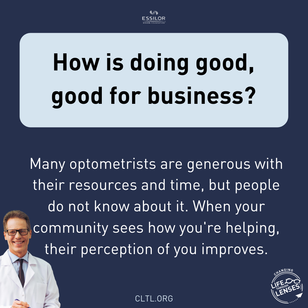 How doing good is good for business